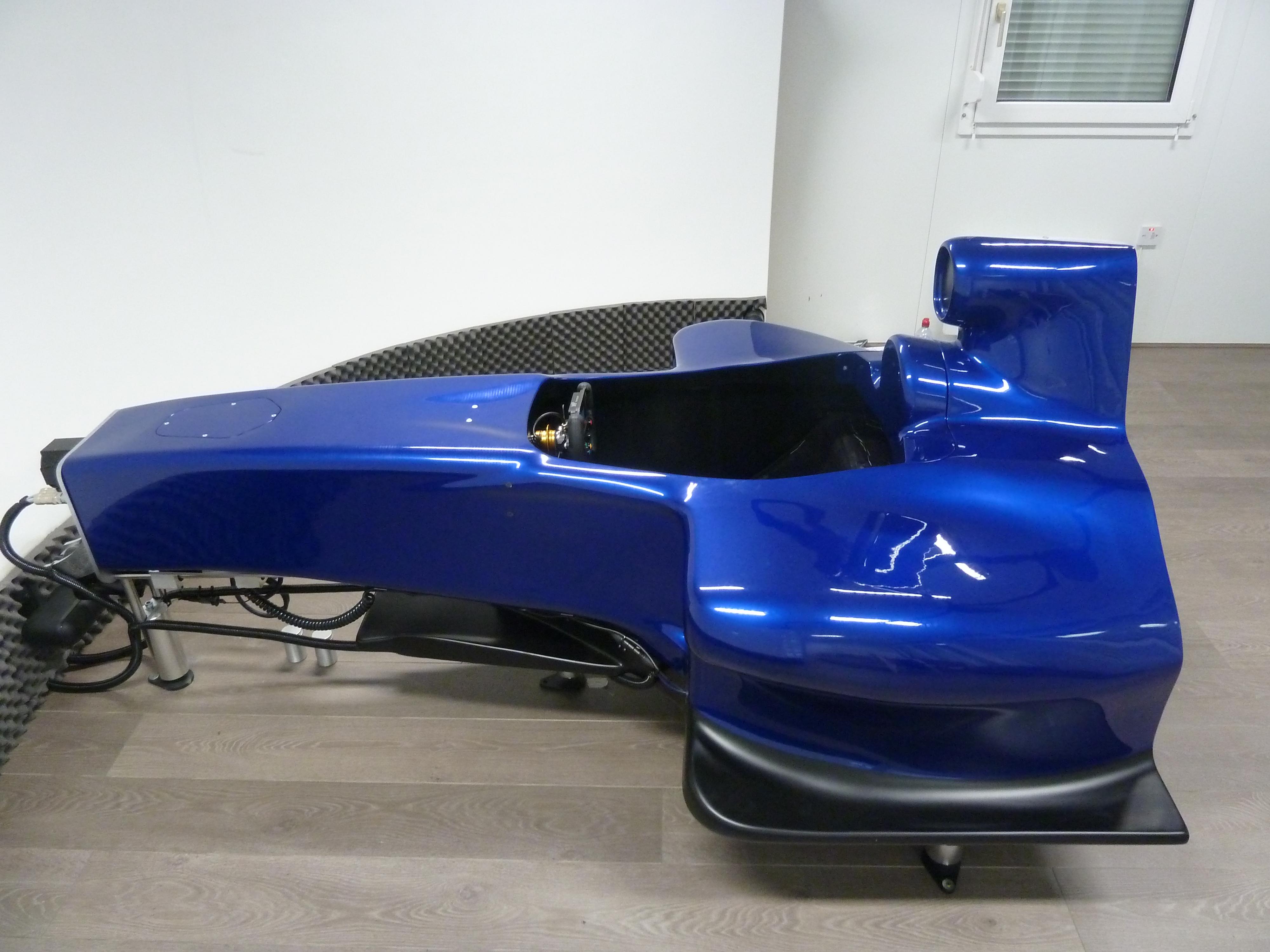 Pro-Sim Half F1 car